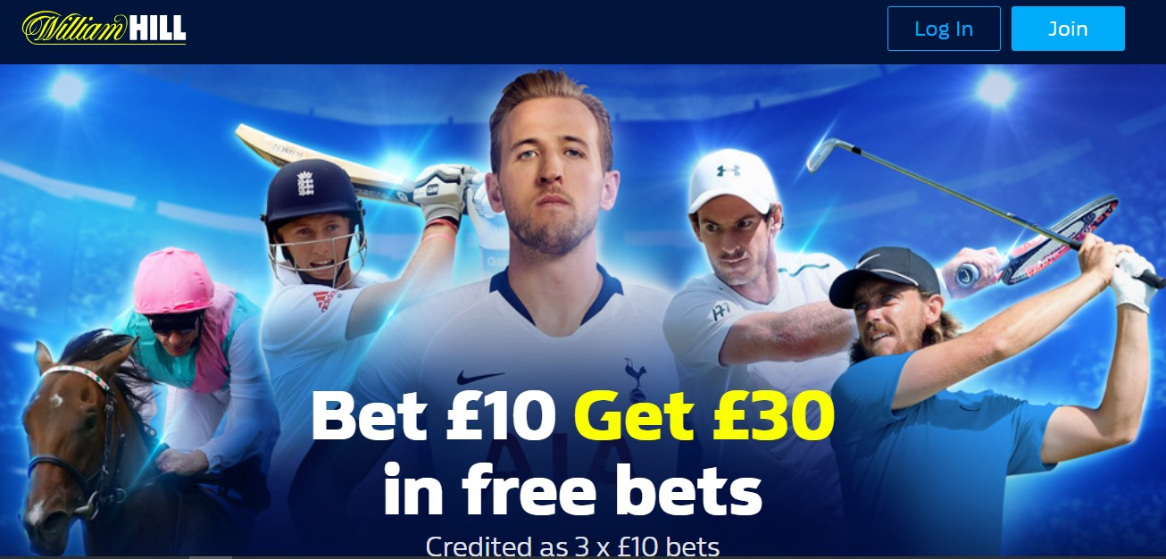 William Hill Bonus 1
